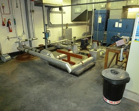 Plant-room-concrete-floor-before-repair-and-waterproof-floor-coating-applied-by-COVAC